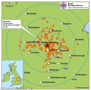 Earthquake England
